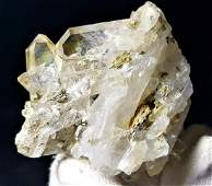 Fedan Quartz Crystals Cluster - 109.7 Grams