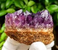 Amethyst Crystals Cluster Specimen  1826 Grams