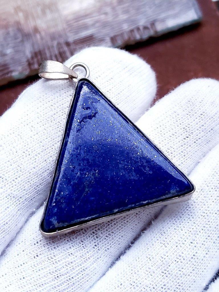 Lapis Lazuli Healing Handmade Pendant