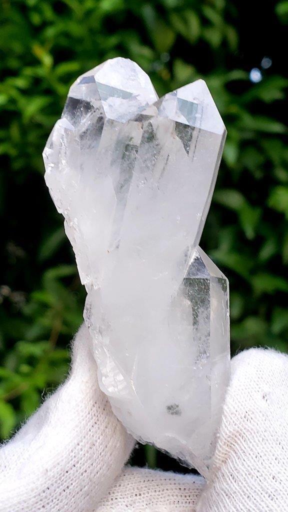 Twin Fedan Quartz Crystals - 60.7 Grams