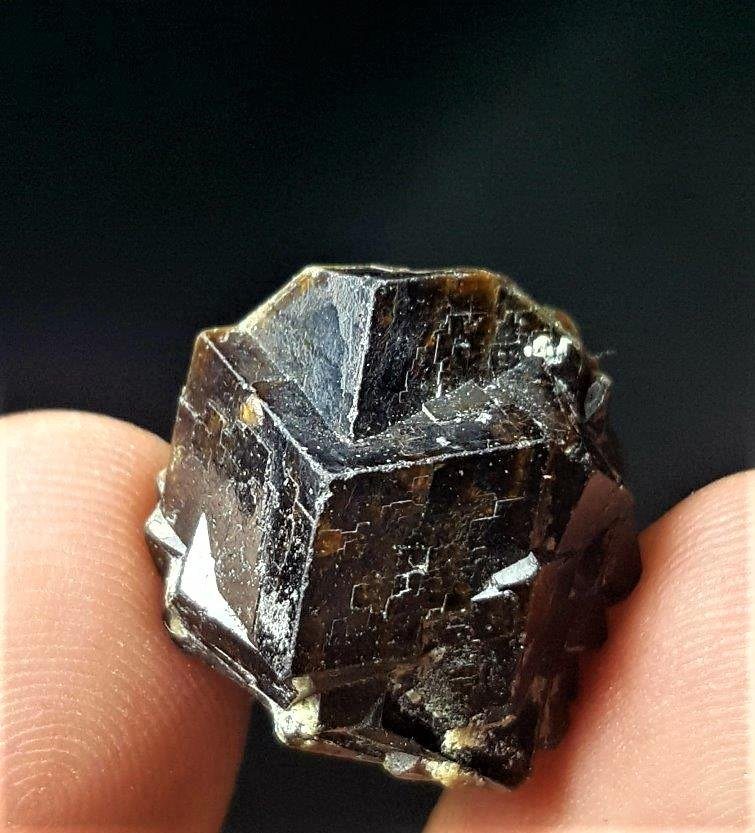 Terminated Andradite Garnet Clustern - 5.4 Grams