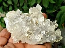 Undamaged Quartz Crystals Cluster - 185.5 Grams