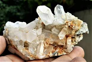 Quartz With Mother Rock Specimen - 170.8 Grams