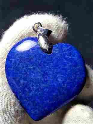 Lapis Lazuli Pendant Sterling Silver Jewelry