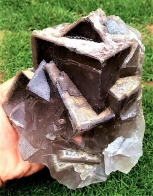 3.5 KG Aesthetic Phantom Fluorite Collection Piece
