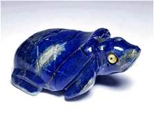 Hand Made Lapis Turtle - 89 Grams