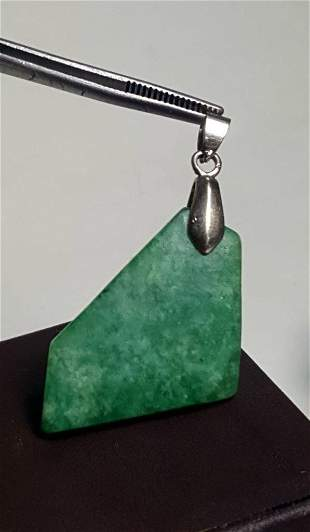 Good Fortune Green Jade Pendant