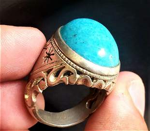 Beautiful Sterling Silver Torquoise Ring
