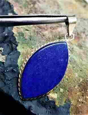 Egyptian Style Lapis Jewelry Pendant