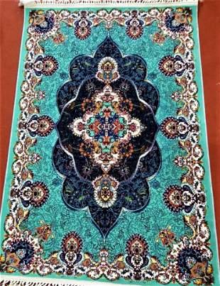 Afghan Hirati Wool Rug