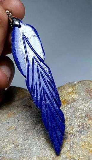 Lapis Lazuli Pendant, 925 Sterling Silver Pendant
