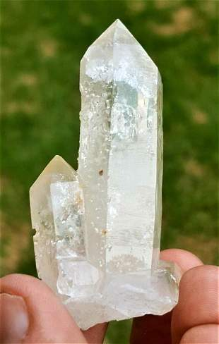 Undamaged Healing Quartz Crystals - 47 Grams