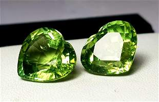 21.95 Carats Top quality paired Tourmaline