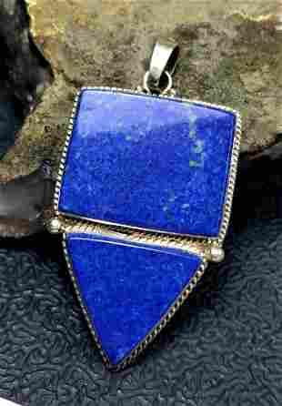 Blue Lapis Lazuli Chakra Necklace