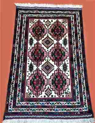 Handmade Jaldar Afghan Rug