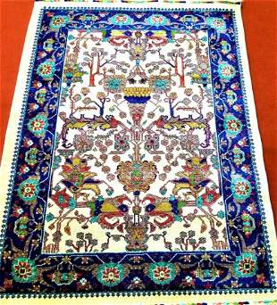 Vintage Turkman Rug