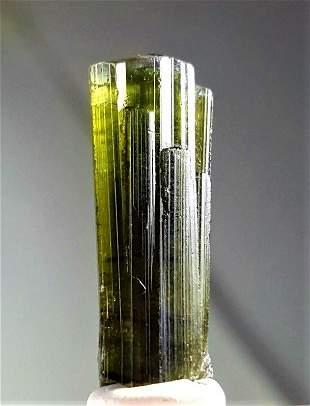 Green Tourmaline Crystal - 4.1 Grams