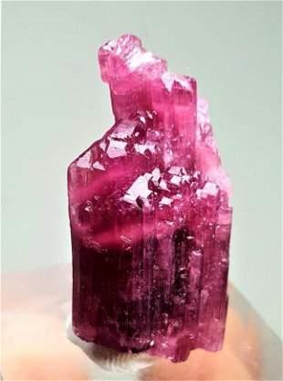 Beautiful Pink Tourmaline Crystal - 6.7 Grams