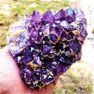 Amethyst Crystals Cluster - 784.2 Grams