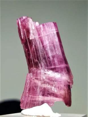 Pink Tourmaline Crystal - 15.1 Grams