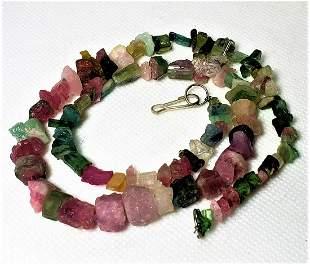 Rubelite Tourmaline Necklace