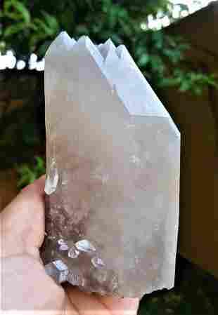 Quartz Crystal Undamaged - 296 Grams