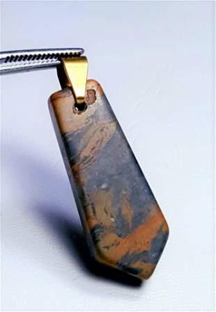 Beautiful Jasper Pendant in Sterling Silver
