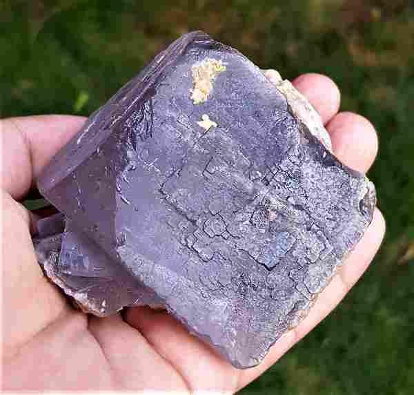 Natural Cubic Fluorite Undamaged - 429 Grams