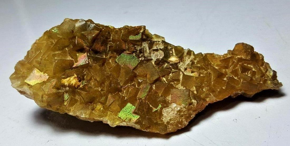 101 Grams Cubic Rainbow Fluorite