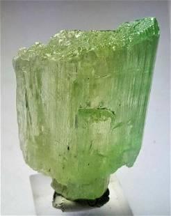 52.9 Grams Rare Hiddenite Raw Crystal