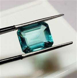 Natural Fluorite Gem Ring Size - 7.80 Carats