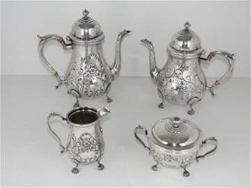 4 Pc. Amston Sterling Tea Set