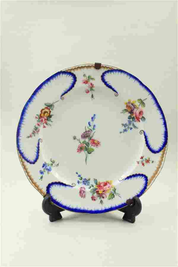 Russian ?? porcelain plate