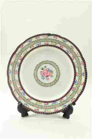Exquisite porcelain plate