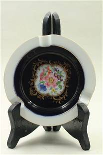Ashtray with decorations