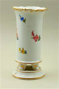 A tall, beautiful porcelain cup / vase