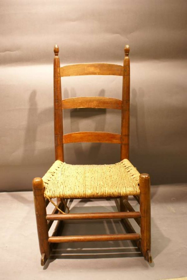 1: Shaker Style Rocking Chair