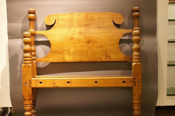 7: Pr 19th C Amer. Pine Twin Rope Beds