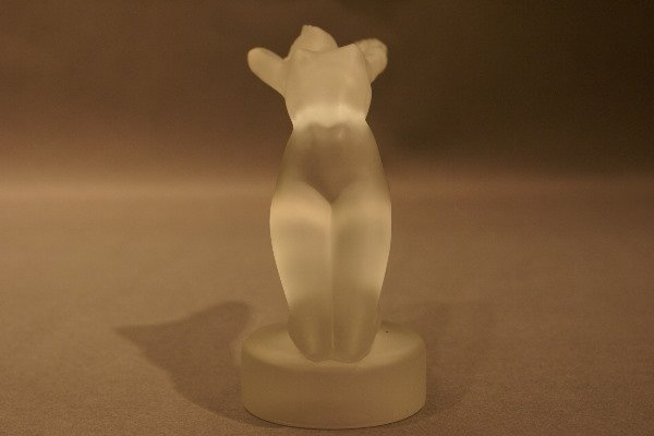 11: Lalique Figure of Nude Woman