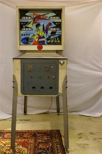 1010: Bally, Capersville Pinball Machine