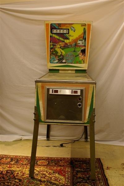 1015: Baseball Pinball Machine