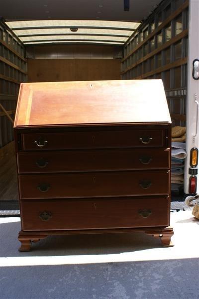 2010: Chippendale Slant Top Desk