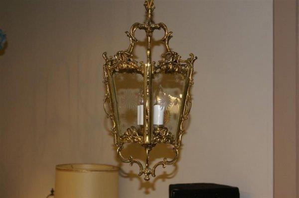 2023: Rococo Brass Light Fixture