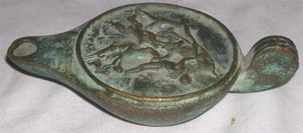 2043: Classical Bronze Aladdin Lamp