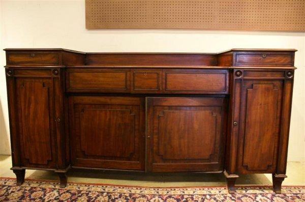 2085: English 19th C Regency style Sideboard