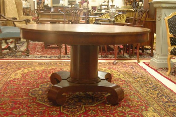 1010: ROUND EMPIRE DINING TABLE