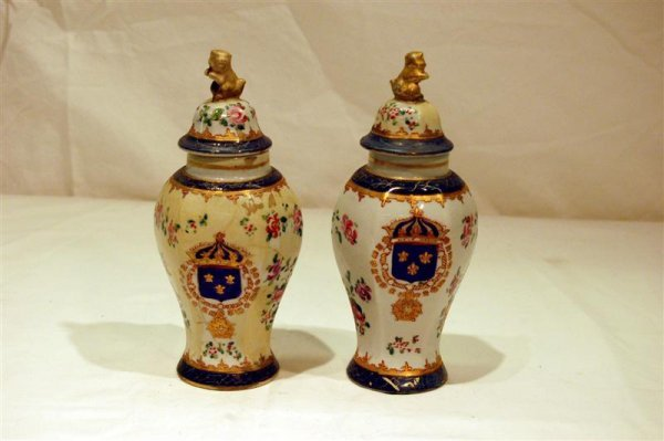 2013: PR OF CHINESE EXPORT STYLE VASES BY SAMPSON - REP