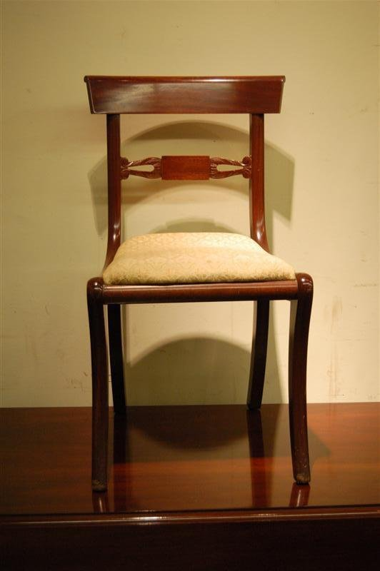 4014: FOUR BIGGS DINING CHAIRS