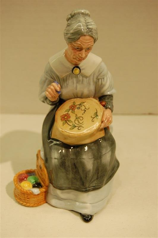 """1008:  DOULTON,""""EMBROIDERING"""""""