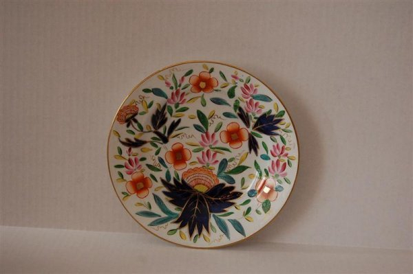 3002: GAUDY DECORATED PLATE
